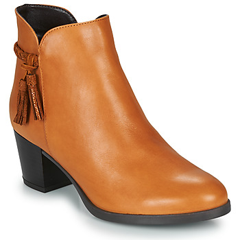 Schuhe Damen Boots André MARYLOU Camel