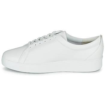 FitFlop RALLY SNEAKERS Weiss - Kostenloser Versand |  - Schuhe Sneaker Low Damen 10500