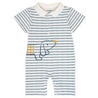 Kleidung Jungen Overalls / Latzhosen Noukie's IMRAN Weiss