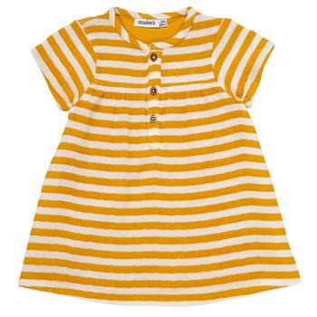 Kleidung Mädchen Kurze Kleider Noukie's YOUNES Gelb