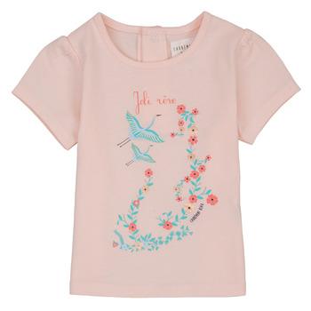 Kleidung Mädchen T-Shirts Carrément Beau NOLAN Rose