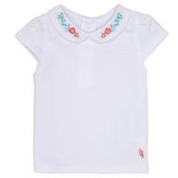 Kleidung Mädchen T-Shirts Carrément Beau MAYVE Weiss