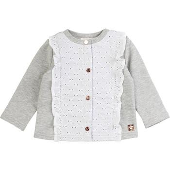 Kleidung Mädchen Strickjacken Carrément Beau ISA Grau
