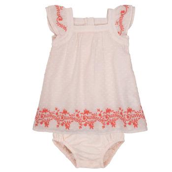 Kleidung Mädchen Kurze Kleider Carrément Beau SAMY Rose