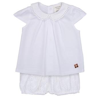 Kleidung Mädchen Kleider & Outfits Carrément Beau LORELLI Weiss