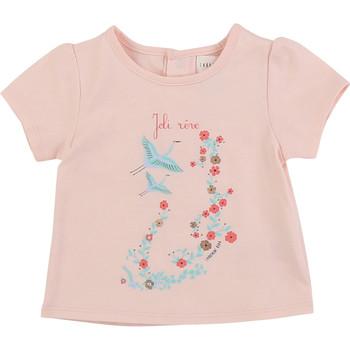Kleidung Mädchen T-Shirts Carrément Beau JUSTINE Rose