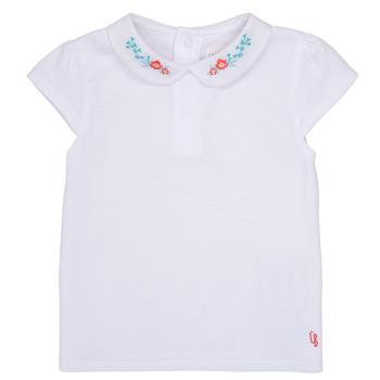 Kleidung Mädchen T-Shirts Carrément Beau JULIEN Weiss