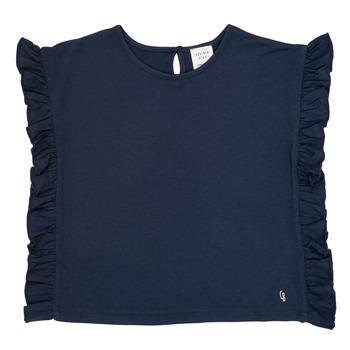 Kleidung Mädchen T-Shirts Carrément Beau KAMILLIA Blau