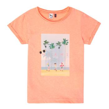 Kleidung Mädchen T-Shirts 3 Pommes LEA Orange