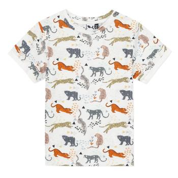Kleidung Jungen T-Shirts 3 Pommes ARIANE Orange