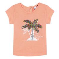 Kleidung Mädchen T-Shirts 3 Pommes EMMA Orange