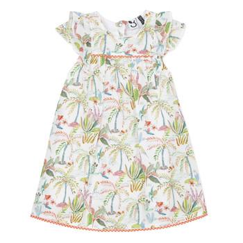 Kleidung Mädchen Kurze Kleider 3 Pommes SANDRINE Weiss
