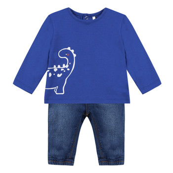 Kleidung Jungen Kleider & Outfits 3 Pommes GABRIEL Blau
