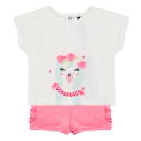 Kleidung Mädchen Kleider & Outfits 3 Pommes JULIEN Rose