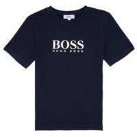 Kleidung Jungen T-Shirts BOSS PILIO Blau