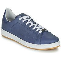 Schuhe Herren Sneaker Low André MATT Blau