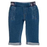 Kleidung Jungen 5-Pocket-Hosen Timberland VALENTIN Blau