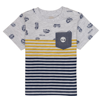 Kleidung Jungen T-Shirts Timberland EVAN Multicolor