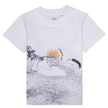 Kleidung Jungen T-Shirts Timberland ANTONIN Weiss