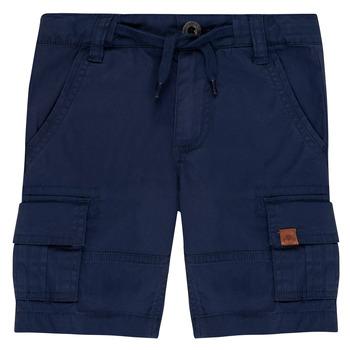 Kleidung Jungen Shorts / Bermudas Timberland LUKA Blau