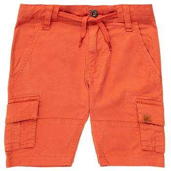 Kleidung Jungen Shorts / Bermudas Timberland TIMEO Rot