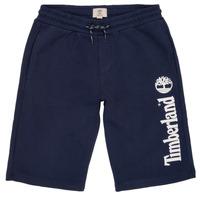 Kleidung Jungen Shorts / Bermudas Timberland OMAR Blau
