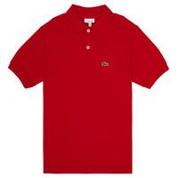 Kleidung Jungen Polohemden Lacoste VINNIE Rot