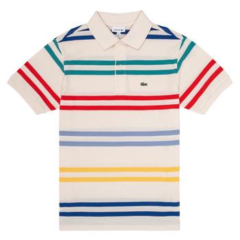 Kleidung Jungen Polohemden Lacoste HENRI Multicolor