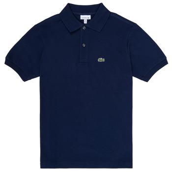 Kleidung Jungen Polohemden Lacoste CYRINNE Marine