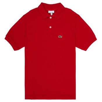 Kleidung Jungen Polohemden Lacoste ANAICK Rot