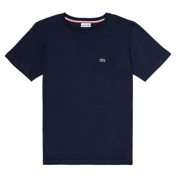 Kleidung Jungen T-Shirts Lacoste KETLEEN Marine