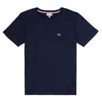 Kleidung Jungen T-Shirts Lacoste JUSTYNE Marine