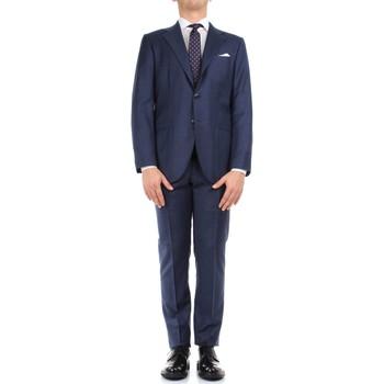 Kleidung Herren Anzüge Kiton 0302S15/25 blau
