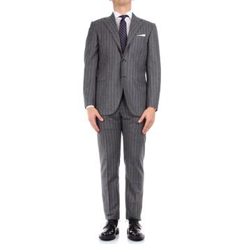 Kleidung Herren Anzüge Kiton 0252S08/2 grau