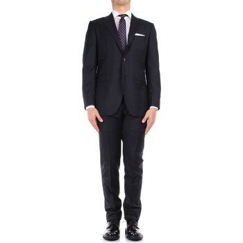 Kleidung Herren Anzüge Kiton 0358181/7 blau