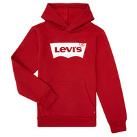 Kleidung Jungen Sweatshirts Levi's BATWING SCREENPRINT HOODIE Rot