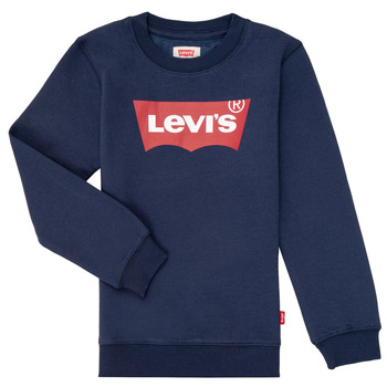 Kleidung Jungen Sweatshirts Levi's BATWING CREWNECK Marine