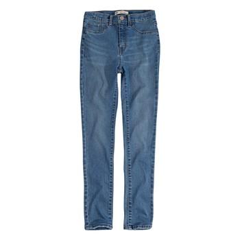 Kleidung Mädchen Röhrenjeans Levi's 721 HIGH RISE SUPER SKINNY Blau
