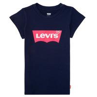 Kleidung Mädchen T-Shirts Levi's BATWING TEE Marine