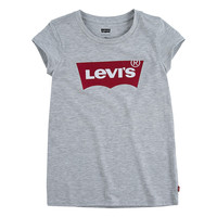 Kleidung Mädchen T-Shirts Levi's BATWING TEE Grau