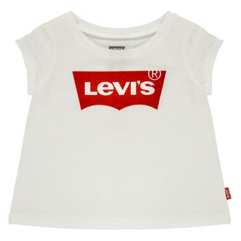 Kleidung Mädchen T-Shirts Levi's BATWING TEE Weiss