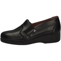 Schuhe Damen Slipper Florance C10115-1 BLACK
