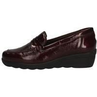 Schuhe Damen Slipper Florance C16100-4 BORDEAUX