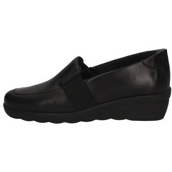 Schuhe Damen Slipper Florance 16102-1 BLACK