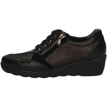 Schuhe Damen Derby-Schuhe Florance C16112-1 BLACK