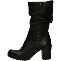 Schuhe Damen Klassische Stiefel Morgana BIK/3 BLACK