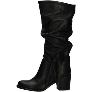 Schuhe Damen Klassische Stiefel Morgana 7069 BLACK