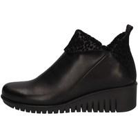 Schuhe Damen Ankle Boots The Flexx E4019-09 BLACK