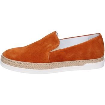 Schuhe Damen Slip on Bouvy slip on wildleder braun