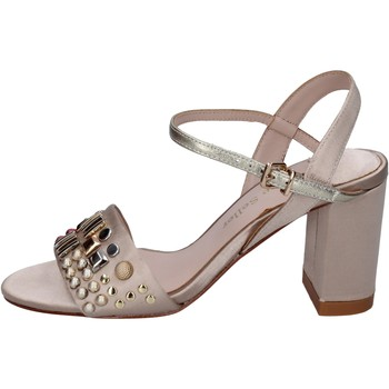 Schuhe Damen Sandalen / Sandaletten The Seller sandalen satin beige
